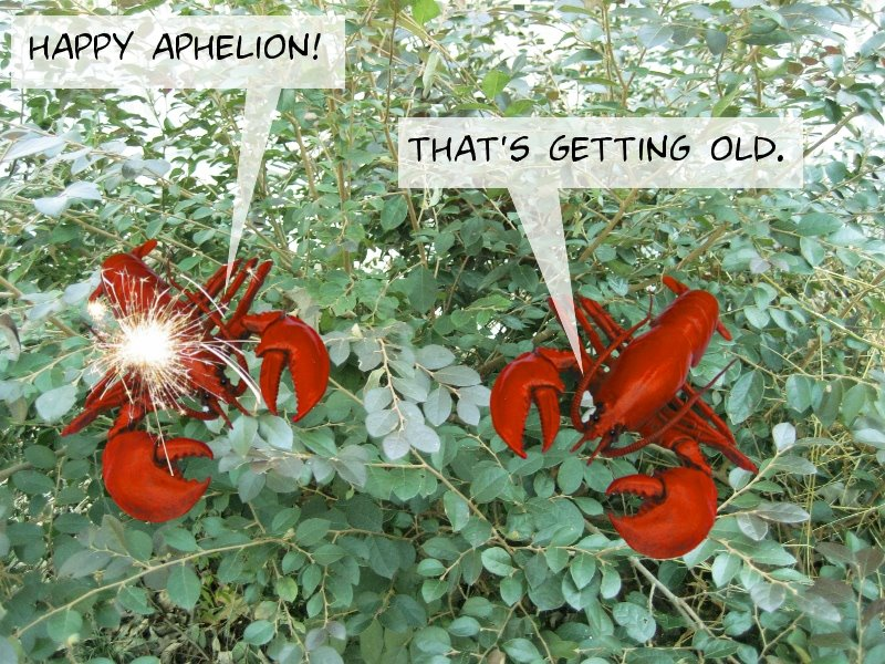 Happy Aphelion! That's getting old.