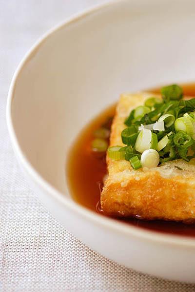 Agedashi tofu and thoughts on Japanese food photography