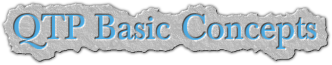 QTP Basic Concepts