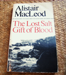 lost salt gift of blood The lost salt gift of blood - such a wonderful title for so many reasons - and such a book, too - blasted by the northern hemisphere version of the same weather that was blasting us today.