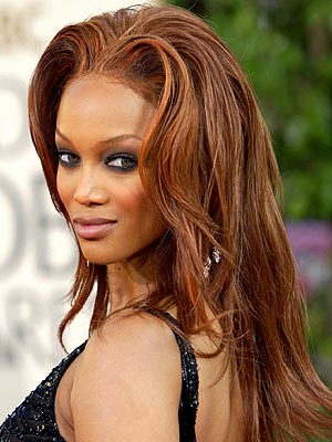 tyra banks hairstyles pictures. For 2010 - Tyra Banks with