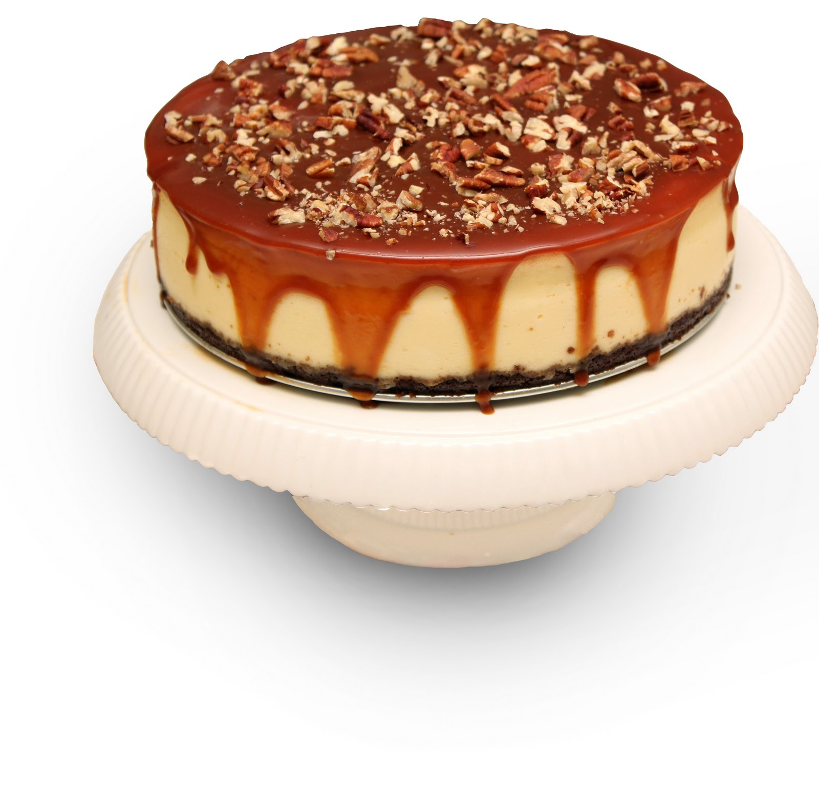 Pecan And Salt Caramel Cheesecake Recipes — Dishmaps