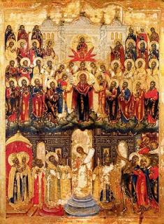 Покров Пресвятой Богородицы. The Protection of Mother of God.