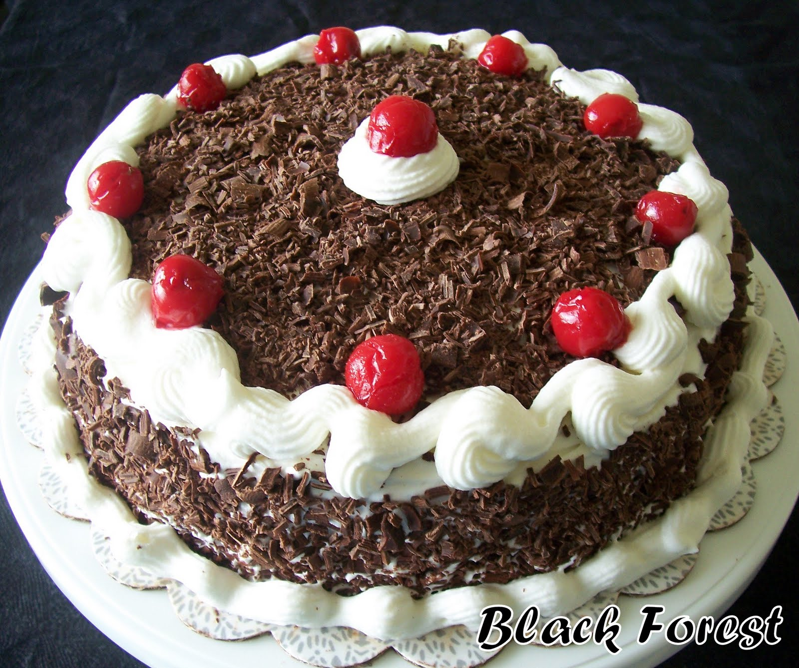 Cake Black Forest Birthday : Tasty Treats: Black Forest Cake