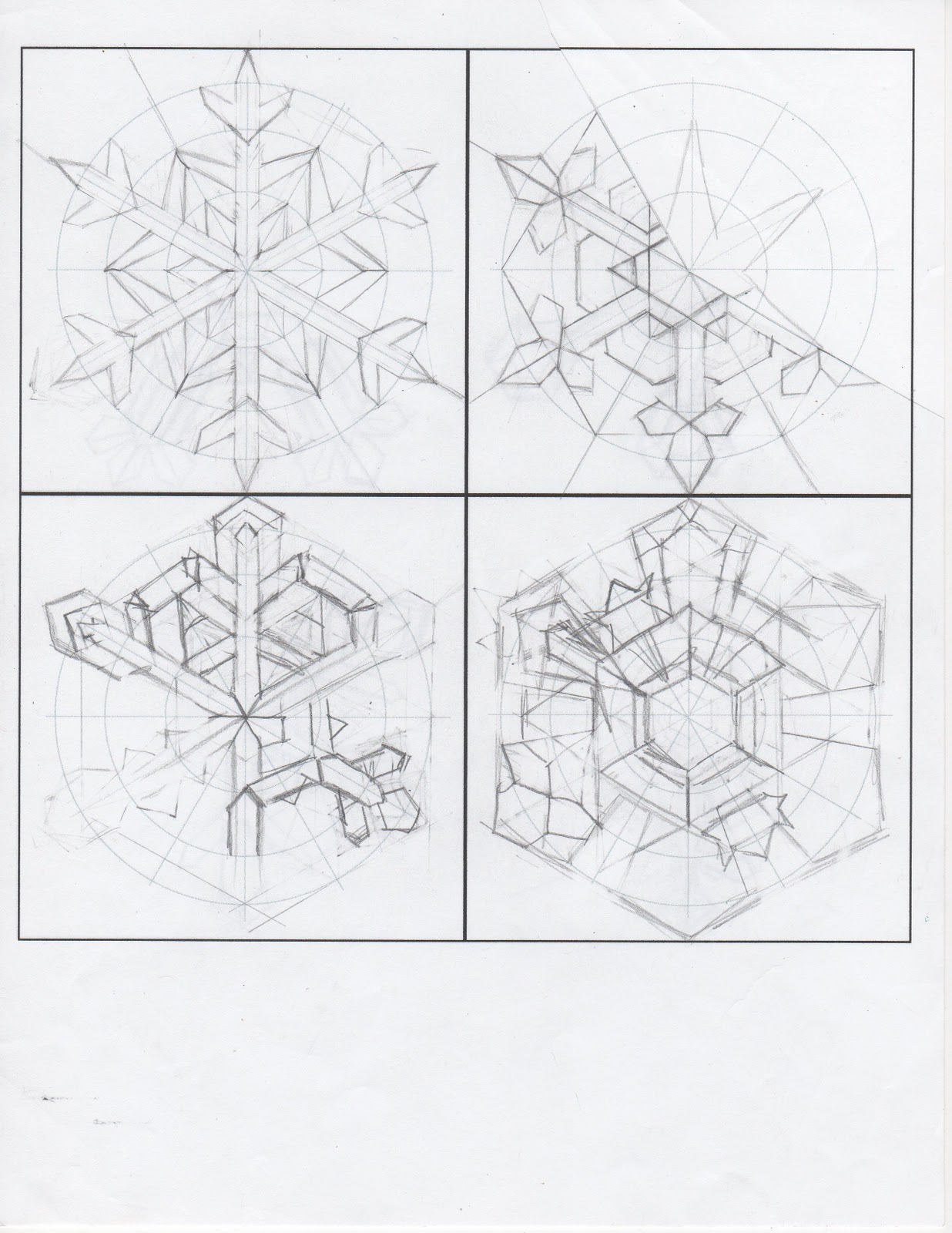 creator u0027s joy design your own snowflake printable template