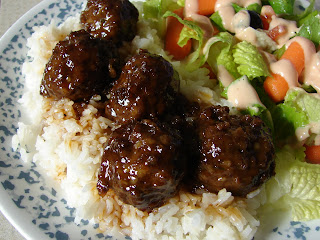 The Royal Cook: Sweet & Sour Meatballs or Chicken