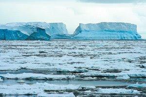 Geleira da antartica