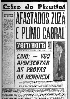 Jornal Zero Hora faz 45 anos