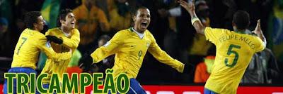 Brasil tricampeão da copa das confederações 2009