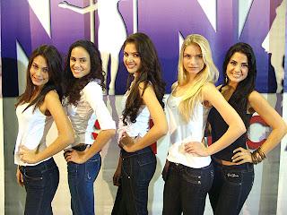 Menina Fantástica 2009. Finalistas do Rio de Janeiro.