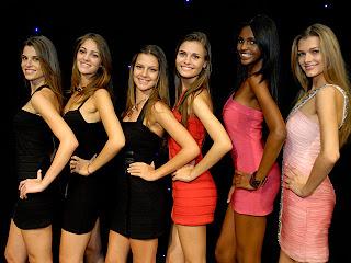 Seis finalistas do Menina Fantástica 2009