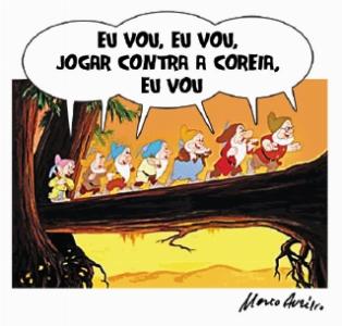 Brasil de Dunga estréia na COPA.