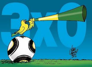 Brasil segue firme na Copa 2010.