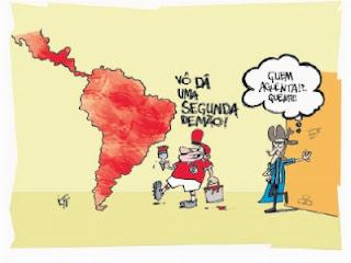 Internacional pinta a América de vermelho.