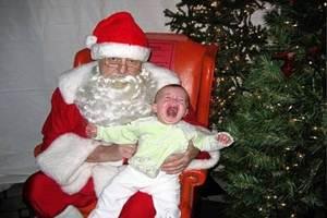 Humor. Você tem medo do Papai Noel?