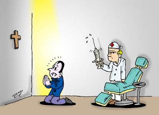 Humor. Medo de dentista.