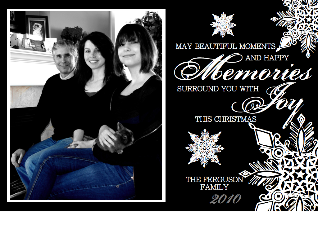 Creative try als make your own family photo christmas card for How to make your own christmas cards