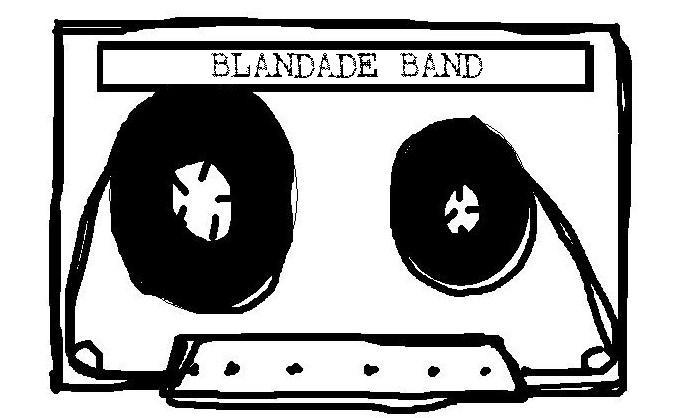 Blandade band