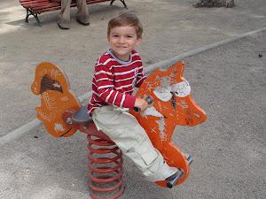 Víctor en el parque