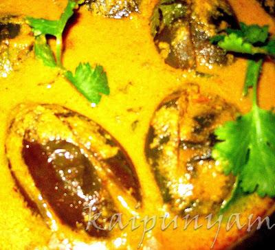 kaipunyam.com: Brinjal Curry