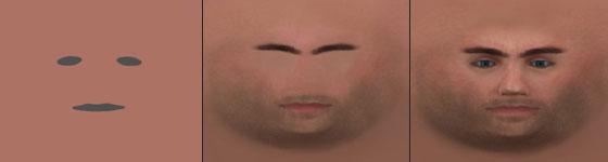 Creating a photorealistic human face - Photoshop