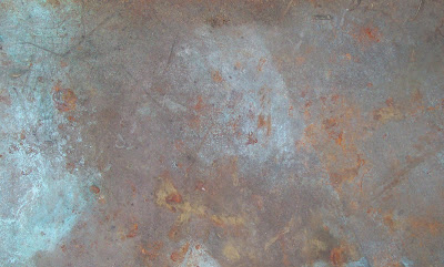 texture metal copper rusty