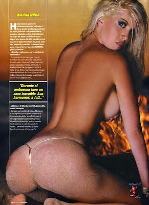 Blog Wanda Nara Desnuda En Revista H