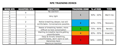 Really The Borg Rating Of Perceived Exertion Rpe