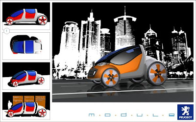 5th Peugeot Concept Car Design Contest 2008 Luxuo