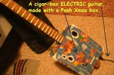 Pooh guitar