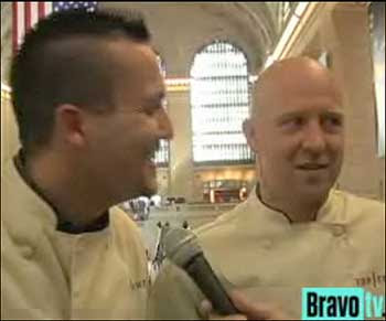 Euro chefs at the TC NYC charity event