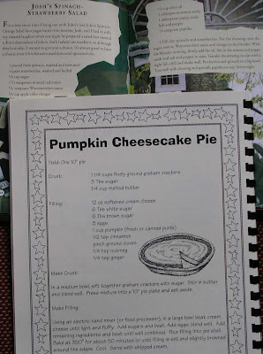 Use young spinach, and don't forget part 2 on the right side.  *Be sure to leave room for the cheesecake pie too.