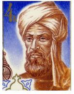 Muhammad bin Musa Al-Khawarizmi atau lebih dikenal Al-Khawarizmi lahir sekitar tahun 780 di Khwārizm