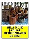 Sila klik jadual Bergendang KGGK (Aktiviti &amp; tempahan)
