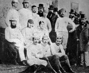 Uno de los primeros equipos del Sheffield