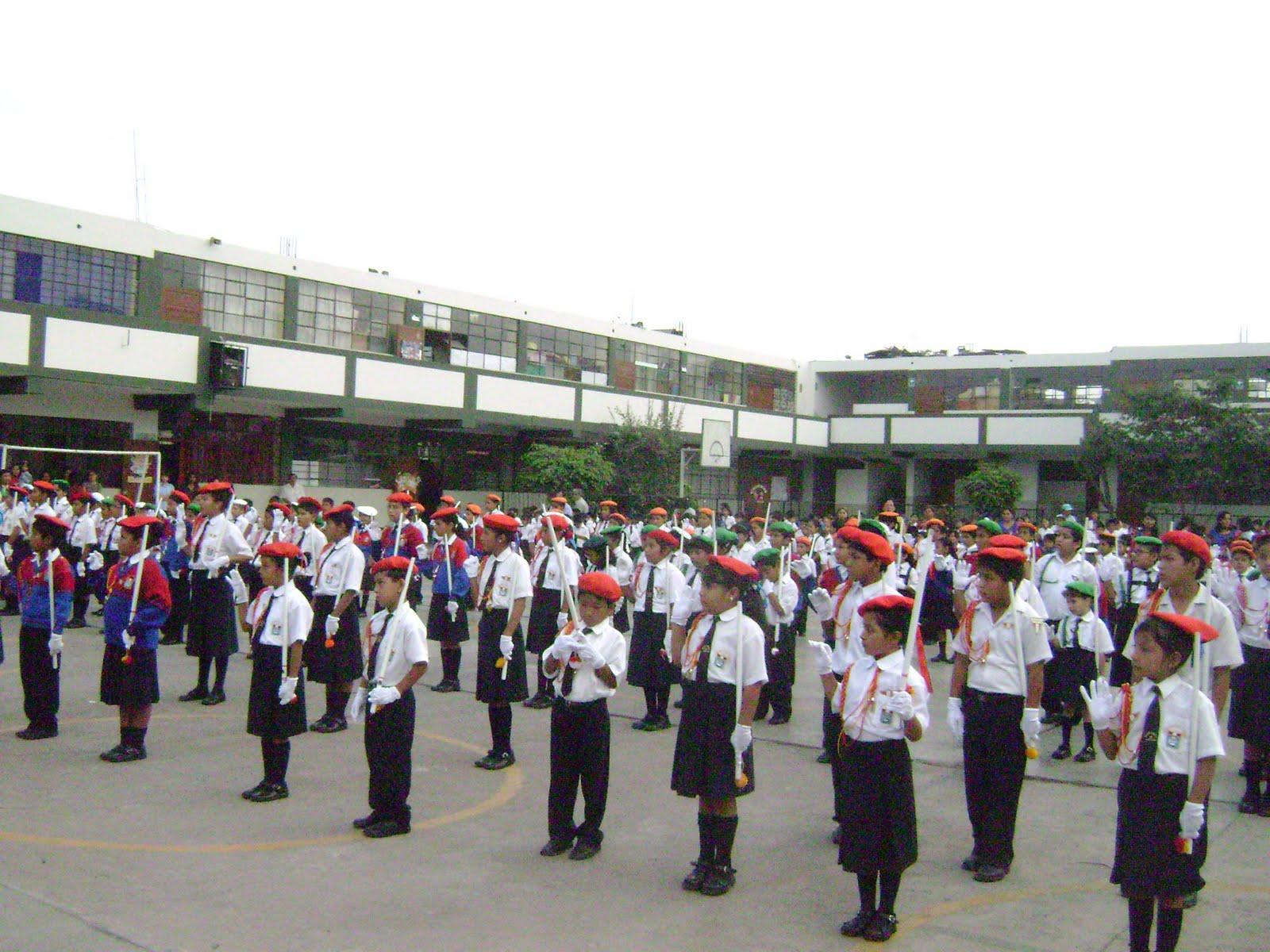 PRIMARIA- AGP- UGEL Nº06: JURAMENTACIÓN DE LA POLICÍA ESCOLAR