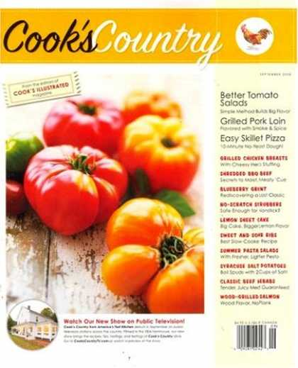 Country Cookbook Cover : The feathered nest cook s country