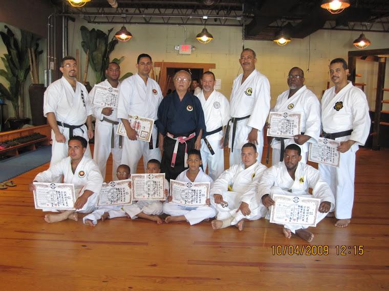 Seminario en Conecticut con el Kancho Sakamoto Octubre 2009