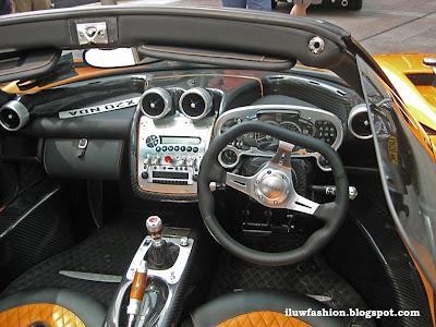 Pagani Zonda F, Roadster, oraange, Roadster, Zonda