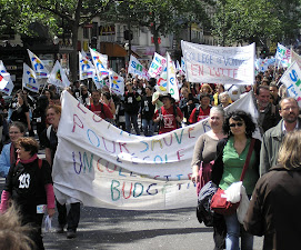 Dans la manif du 18 mai 2008  Paris