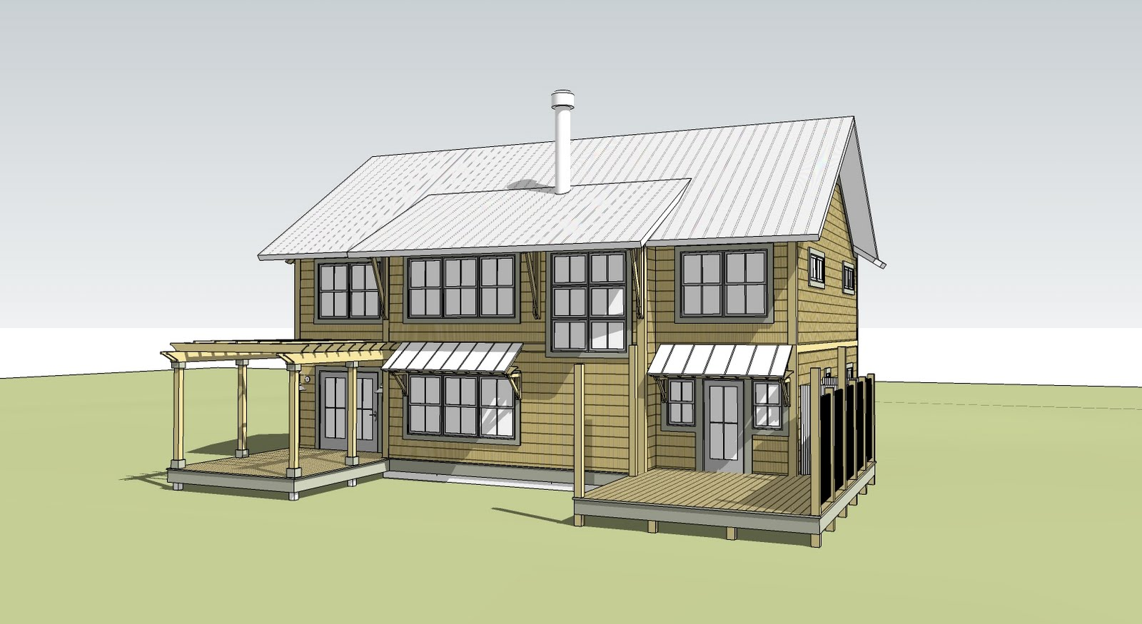 Google SketchUp House Design