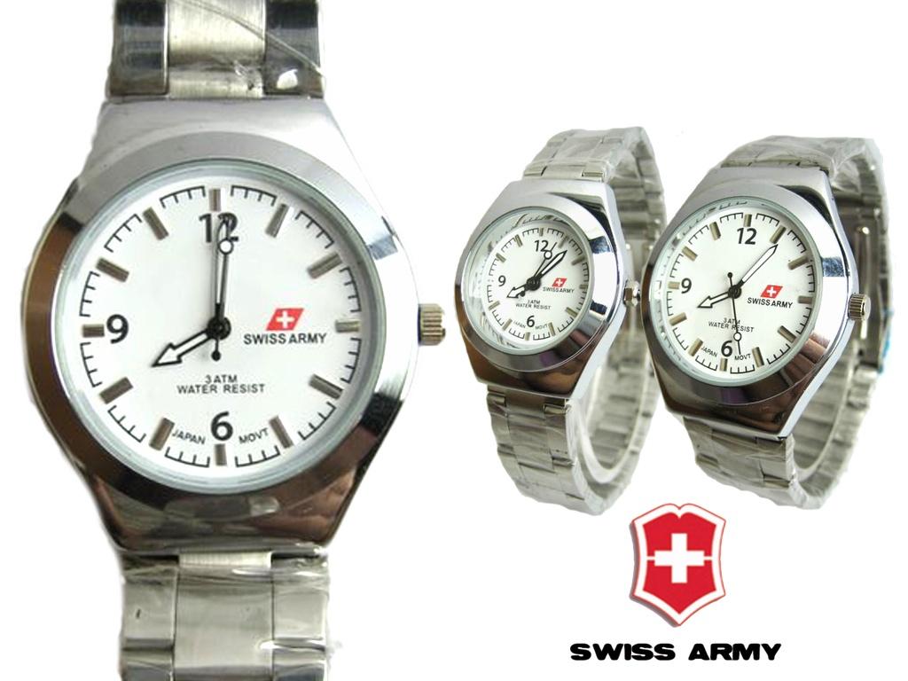 swiss Army Arrow White Couple