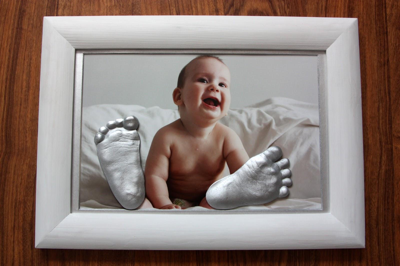 Слепок ручки и ножки малыша своими руками из гипса
