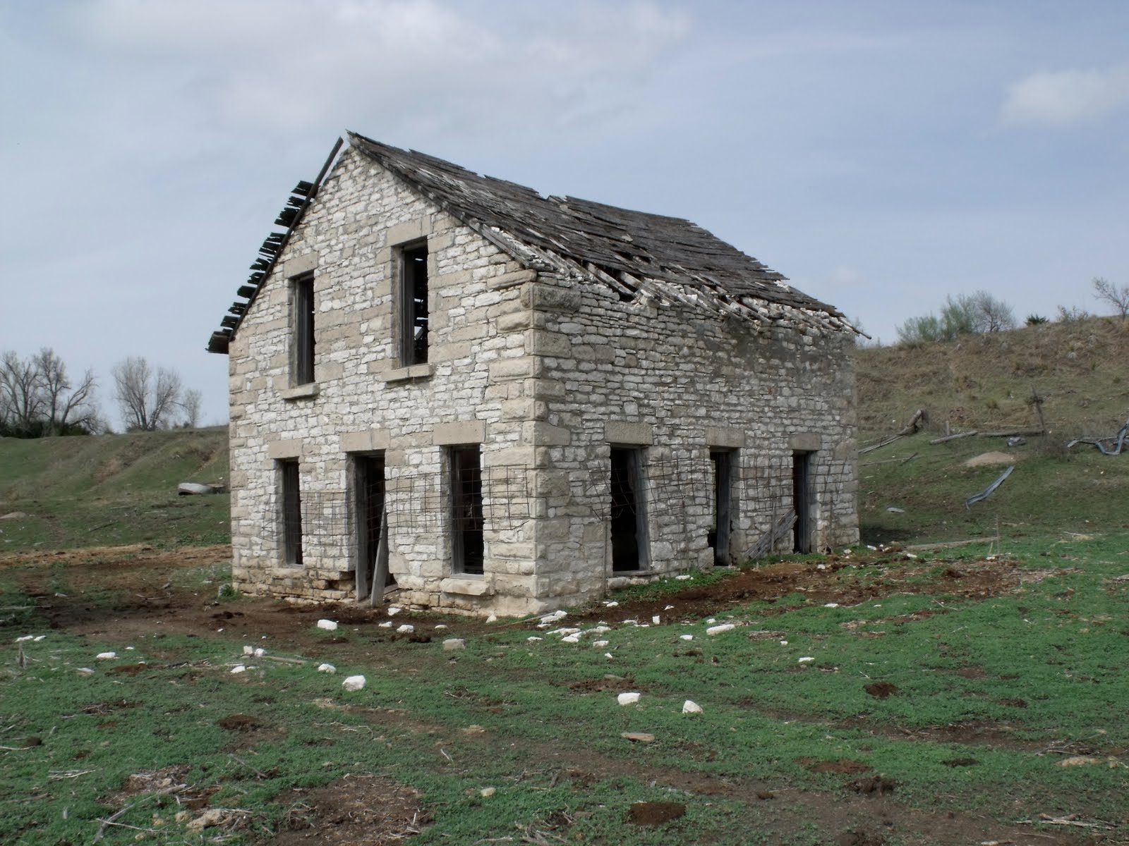 Heritage Nebraska Fading Places The Old Stone House Rural Harlan County Ne