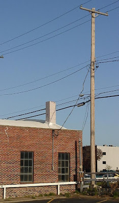[Chimney at Professional Tire, downtown Lincoln]
