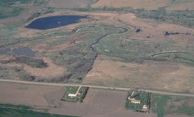 [Water habitat at historic Federation Marsh]