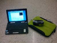 Asus Eee PC & Canon Legria HF R16