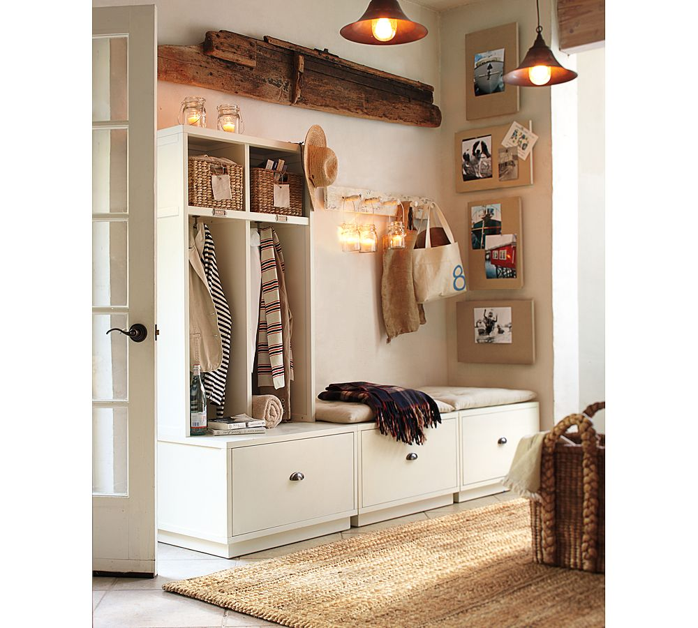 Foyer Storage Designs : Entryway storage systems simple home decoration