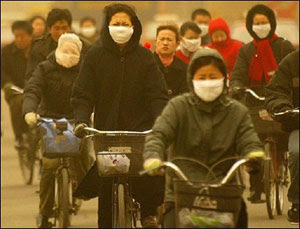 População see queixa de métodos danosos do governo para combater a poluição