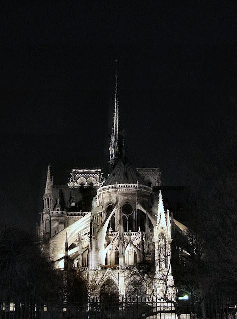 Notre Dame na noite
